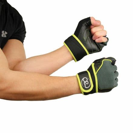Fitness Mad Core Fitness & Weight Training Gloves Gym Weights Lift